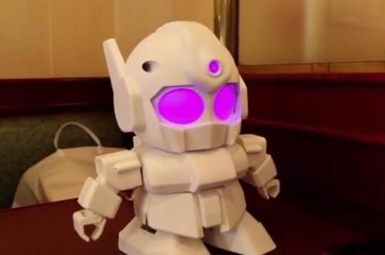 盘点世界上最可爱的智能机器人